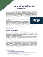 Phishing y Otros Delitos Del Internet