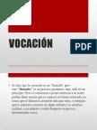 VOCACIÓN etica