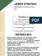 Manajemen Strategi - Presentasi Bcg Matrix