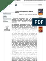 Artigo - Interferencia Eletromagnética em Redes de Computadores