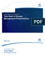 Tata Steel Investor Presentation Apr 2011