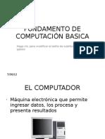 Fundamento de Computacion Basica