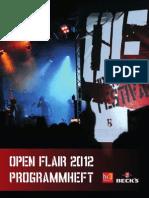 Programmheft 2012