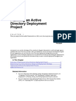 04 CHAPTER 1 Planning an Active Directory Deployment Project