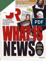 Philippine Journalism Review August 2002