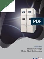 Medium Voltage Metal Clad Swichgear_E