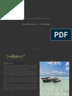 Hotel of the Week The Residence Zanzibar