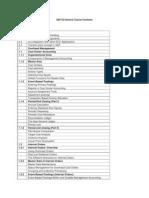 SAP CO Generic Course Contents
