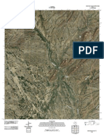 Topographic Map of Maravillas Gap