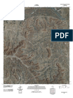 Topographic Map of Indian Mesa NE