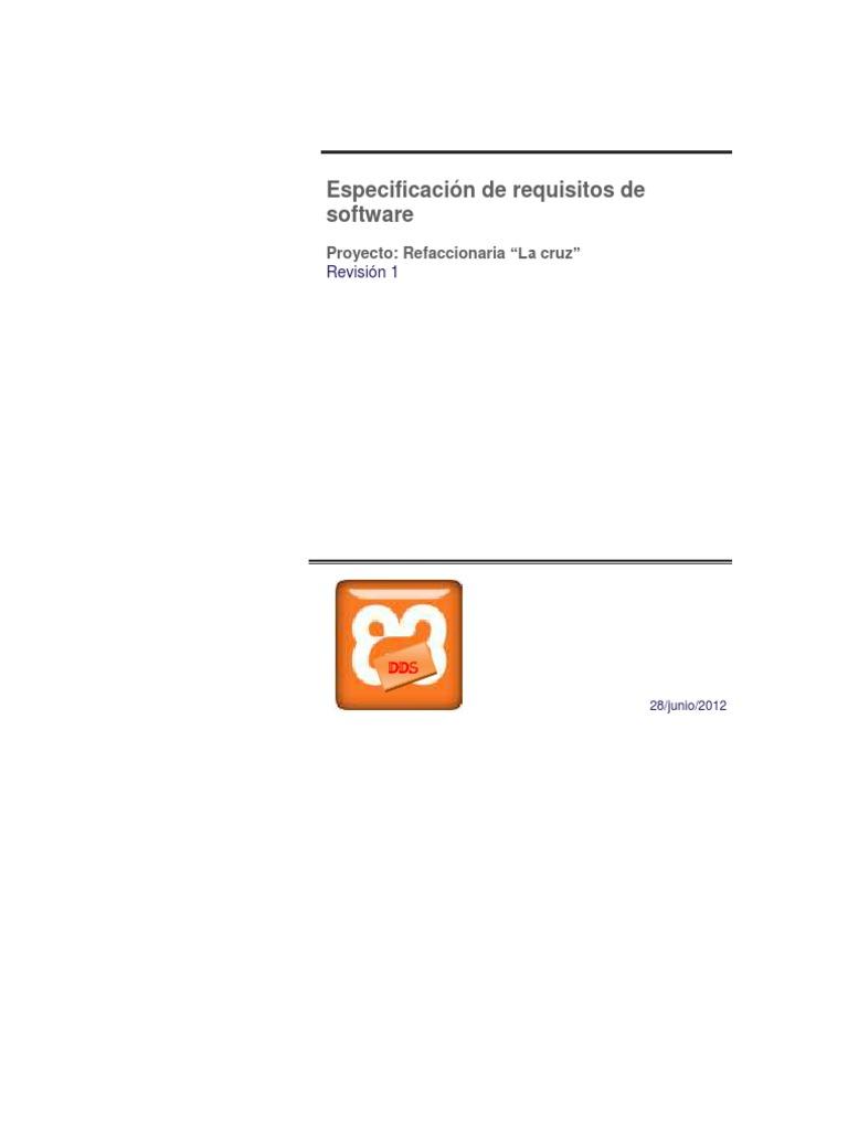 Documento SRS