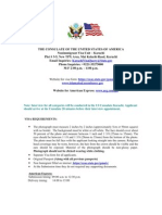Usa Visa Requirement