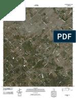 Topographic Map of Kingsbury