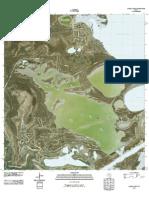 Topographic Map of Laguna Vista