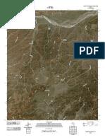 Topographic Map of Schott Mountain