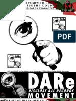 DARe (Disclose All Records) Movement Primer