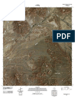 Topographic Map of Tule Mountain