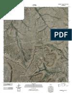 Topographic Map of Marlboro Canyon