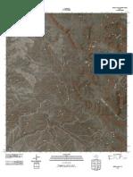 Topographic Map of Jordan Gap