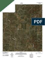 Topographic Map of Kiowa Peak SW