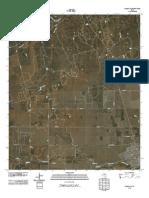 Topographic Map of Hamlin NW