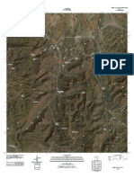 Topographic Map of Echo Canyon