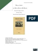Manuel Azaña - Causas de la guerra de España