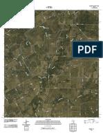 Topographic Map of Ecleto