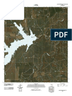 Topographic Map of Lake Stamford East