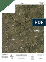 Topographic Map of Kosciusko