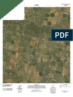 Topographic Map of Woodward NE
