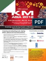 KM Asia 2012