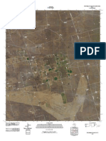 Topographic Map of Five Wells Ranch SW
