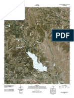 Topographic Map of Lake Weatherford