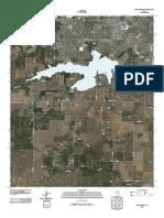Topographic Map of Lake Wichita