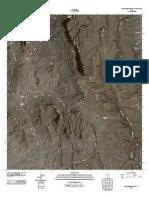 Topographic Map of Gettysburg Peak