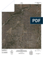 Topographic Map of Flat Rock Creek SW