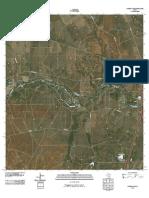 Topographic Map of Harris Lake