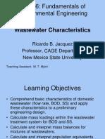 5 Wastewater Characteristics