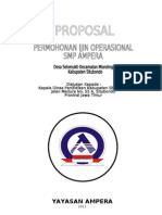 Proposal Ijin Operasional SMP