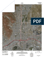 Topographic Map of El Paso
