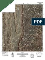 Topographic Map of El Paso Gap