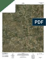 Topographic Map of Adamsville