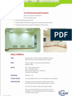 4 Cleanroom Panels