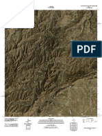 Topographic Map of Glass Mountain Ranch