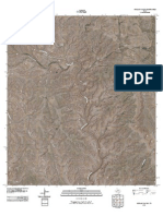 Topographic Map of McClain Canyon
