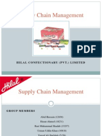 Supply Chain Management Hilal Foods