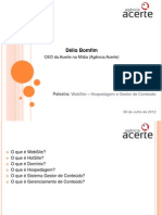 Apresentação WebSite - Hospedagem e Manutenção