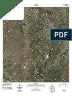 Topographic Map of McCoy