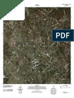 Topographic Map of Bandera Pass